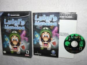 Luigi's Mansion (Nintendo GameCube, 2001) Complete CIB W/ Manual Authentic