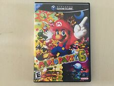 Replacement Case (NO GAME) Mario Party 6 - Nintendo Gamecube