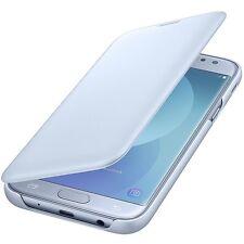 Original Samsung Flip Wallet Case Cover EF-WJ530 Galaxy J5 2017 Edition Blau