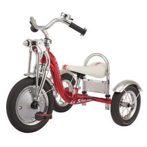 Schwinn Super Deluxe Trike Tricycle Toddler Child Vintage Gift UK Chopper