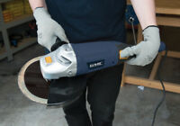 2200W Angle Grinder 230mm Masonry Stone Metal Cutting Grinding Power Tool GMC