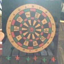 Desktop decision maker dart board
