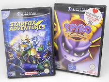 Spyro Enter The Dragonfly & Starfox Adventures-Gamecube