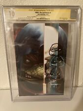 TMNT The Last Ronin 1 CGC 10 Mint Signed and Sketched By Mico Suayan Not 9.8