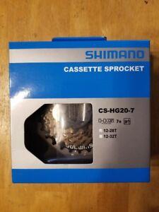 Shimano CS-HG20-7 7 Speed Bike Cassette Sprocket 12-28T