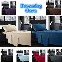 Egyptian Comfort 1800 Count 4 Piece Deep Pocket Hotel Luxury Bed Sheet Set G5