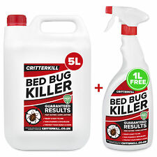5+1L STRONG BED BUG TREATMENT KILLER SPRAY AEROSOL CRAWLING INSECT INSECTICIDE