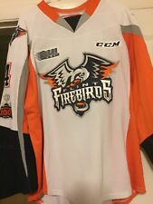 2017-18 Ohl Flint Firebirds Hakon Nilsen Game Worn Signed Hockey Jersey