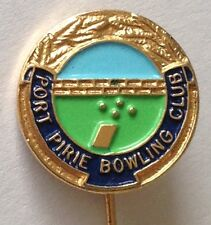 Port Pirie Bowling Club Pin Badge Rare Vintage (K7)