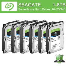 """Seagate SkyHawk 1-8TB Hard Drive SATA 256MB Cache 3.5"""" Internal Drive Lot"""