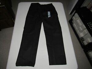 "Dickies Men's Black Work Uniform Cargo Pants Size Waist 34"" Inseam 32"" NWT"