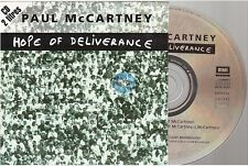 PAUL McCARTNEY hope of deliverance CD SINGLE french card sleeve BEATLES france