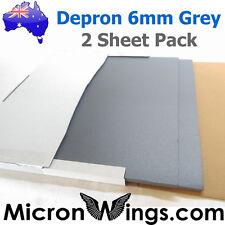 Depron Foam Pack - 6mm Grey (box of two sheets)