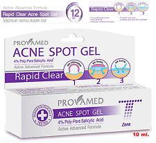 Provamed Acne Spot cream Gel f cystic pimple Clear skin face care treatment 10ml