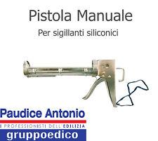 PISTOLA PER SILICONE PER CARTUCCE SIGILLANTE 280-310 ML ACCIAIO UNIVERSALE