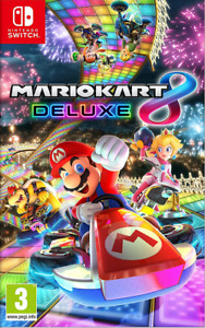Mario Kart 8 Deluxe ( Nintendo Switch ) Read Description