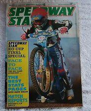 1990 SPEEDWAY STAR Magazine - 20 October, Greg Hancock, England WTC Squad