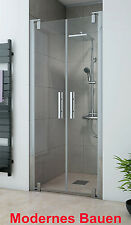 Breuer EUROPA-DESIGN Pendeltür Nischentür Duschtür, Glas 8 mm, auch Sondermaße