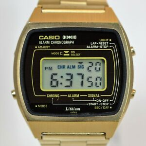 Casio 83QGS-41A Vintage - Gold version, very rare!