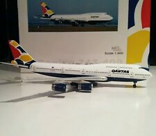 Net Models Qantas British Airways Hybrid 1/400 scale Boeing 747-400 VH-NLH plane