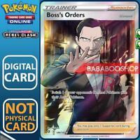 Boss's Orders 189/192 Rebel Clash for Pokemon Card Online TCG Digital