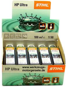 10x 100ml Zweitaktmotoröl Stihl HP Ultra, 0781 319 8060, Mischöl, 1 Liter