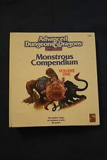 Ad&d Monstrous Compendium volume One Advanced Dungeons & Dragons