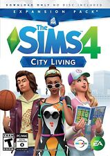 SIM 4 CITY LIVING EXPANSION PACK ( PC / MAC )  BRAND NEW. FACTORY SEALED