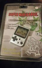 Nintendo Mini Classics Super Mario Bros Keychain Clock Alarm Clock Game New