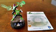 Hal Jordan and Sinestro #052 SR duo War of Light Heroclix set super rare Green!