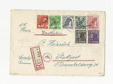 Ungeprüfte Briefmarken aus Berlin (1948-1949) mit Mischfrankatur