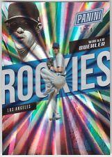WALKER BUEHLER 2018 Panini National Silver Pack Rookie Spokes #/49 #121 Dodgers