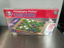 New Philadelphia Phillies Checkers Game with Phillies Cap King Pieces