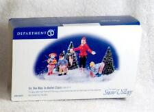 DEPT 56 On The Way To Ballet Class Set of 3, NIB