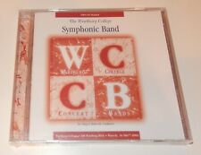 Warburg College Symphonic Band 2004-05 Season CD Craig Hancock NEW Waverly IA