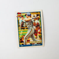 1991 Topps Milwaukee Brewers Robin Yount #575 Card