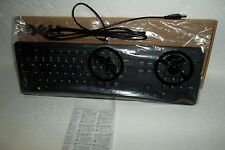 Dell Black Slim Quiet USB Keyboard w/Sleep QWERTY Layout F8M3Y N8WF8 KB113P NEW