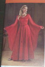Old World style Wedding bridal DRESS GOWN PATTERN misses 14-20 soft & flowing
