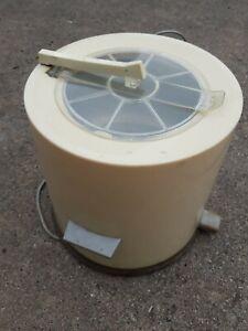 TEXTIMA TS66 Tischschleuder 2kg Entsafter DDR Wäsche Schleuder Zentrifuge