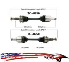 Front Left Right Axles for 4 Wheel Drive Toyota Tundra 2007-2020 43430-0C020