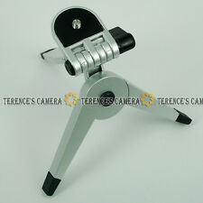 Silver Mini Portable Tripod for Camera Camcorder DSLR DC