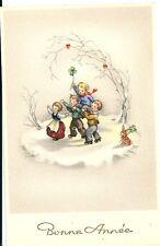 CPA BONNE ANNEE 1950 Ancienne carte de voeux NEUF N°3