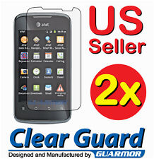 2x Clear LCD Screen Protector Guard Shield Cover Film for Huawei Fusion 2 U8665
