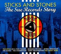 Sticks & Stones: The Sue Records Story [Digipak] by Various Artists (CD,...