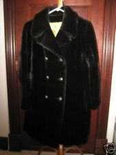 AWESOME BLACK FAUX FUR womens coat A MUST HAVE!