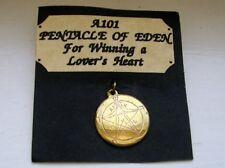 """ For Winning a Lover's Heart ""  Pentacle of Eden Star Charm Pendant"