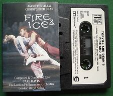 Torvill & Dean Fire and Ice LPO Carl Davis Abs Exc Cassette Tape - TESTED