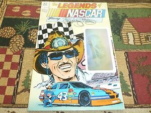 The Legends of NASCAR Richard Petty comic #2 - Vortex Comics