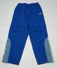 Adidas Mens M Blue Nylon Lined Running Jogging Athletic Pants