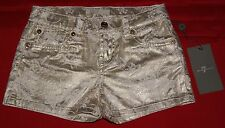 7 For All Mankind Little Girls' White Gold Novelty Short Size 6X Brand New